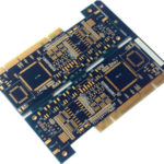 FR4 material double-sided PCB board gold finger