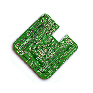 ROHS CE 6 Layer OEM 1 oz Copper Thickness PCB